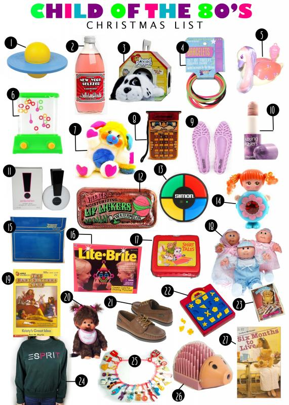 My s child christmas gift list enjoying the small things