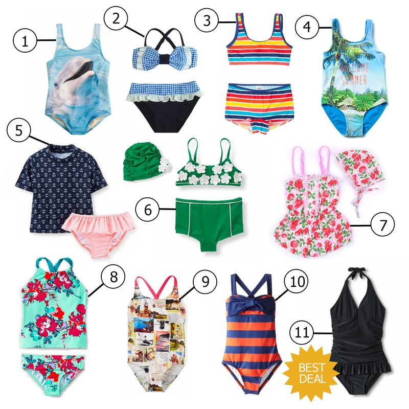 Friday Faves: Kids' Swimwear