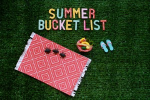 Summer Dreams: 4 Ways to Make a Summer Bucket List