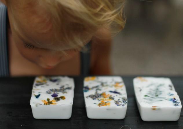 Rainy Day Fix: Wildflower Soap Making