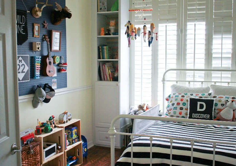 A Room for a Boy, A DIY Project for a Girl