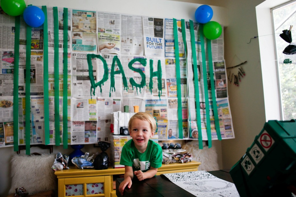 Dash's 4 Year Trash Bash: A Garbage Truck Party