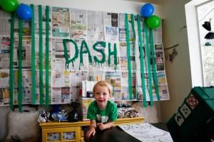 Dash's 4 Year Trash Bash: A Garbage Truck Party