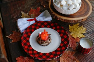 Make It: Cozy Fall Campfire Night Light/Place Setting