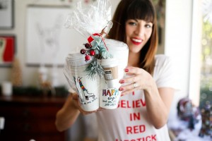 Easiest, Inexpensive Gift with Meaning: Personalized Coffee To-Go Cups