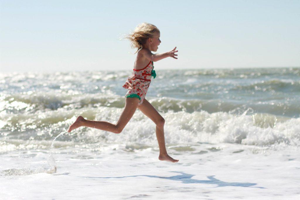 Lainey on beach