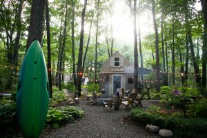 Bliss Tour: Northern Michigan Tiny Cottage and Gardens