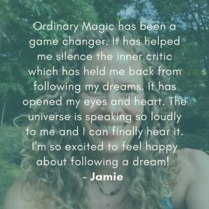 Ordinary Magic Testimonial