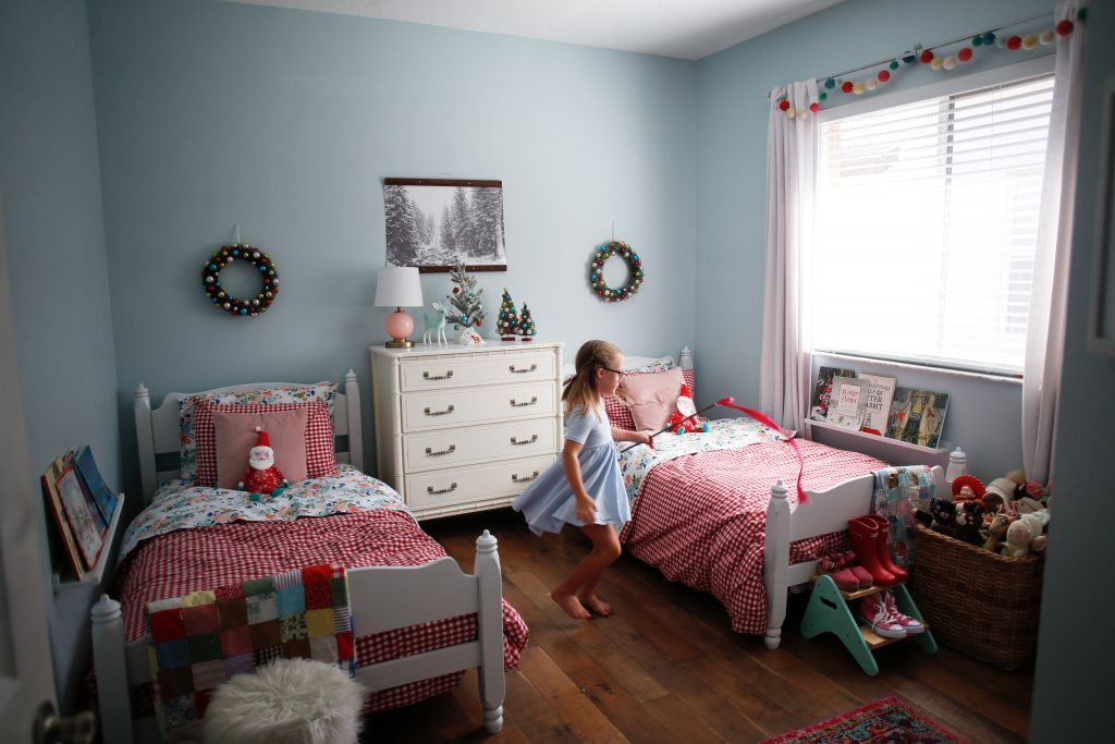 Nella's Room Revamp (with a side of Christmas Decor)