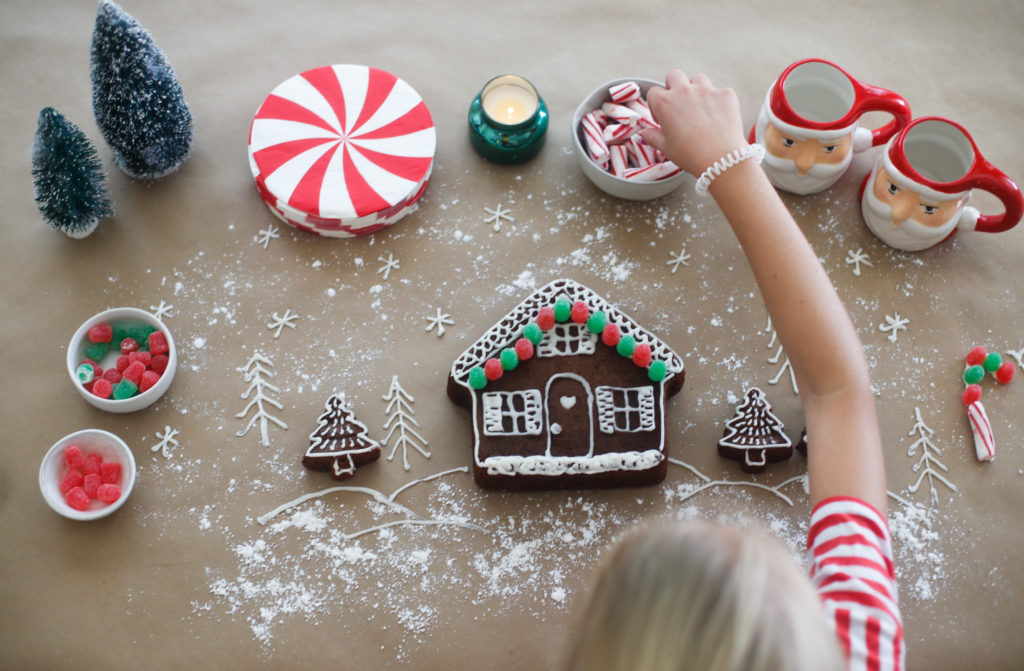 The No-Cursing-While-You-Build-It Gingerbread House