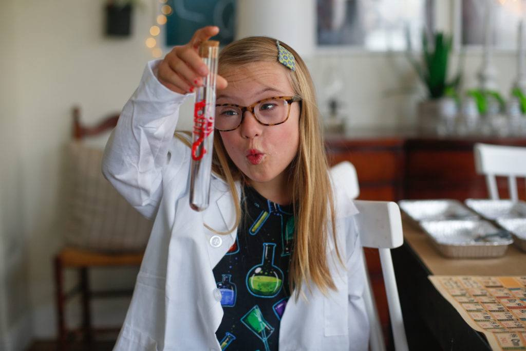 A Mad Science Party: Nella Turns 9