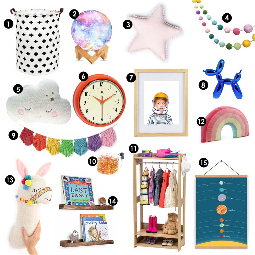 Inexpensive Kid Room Decor Finds from Amazon