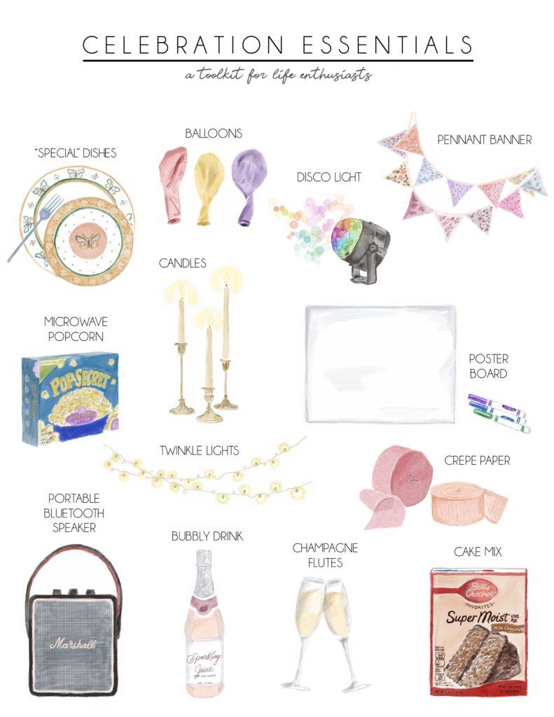 Essentials for Celebration