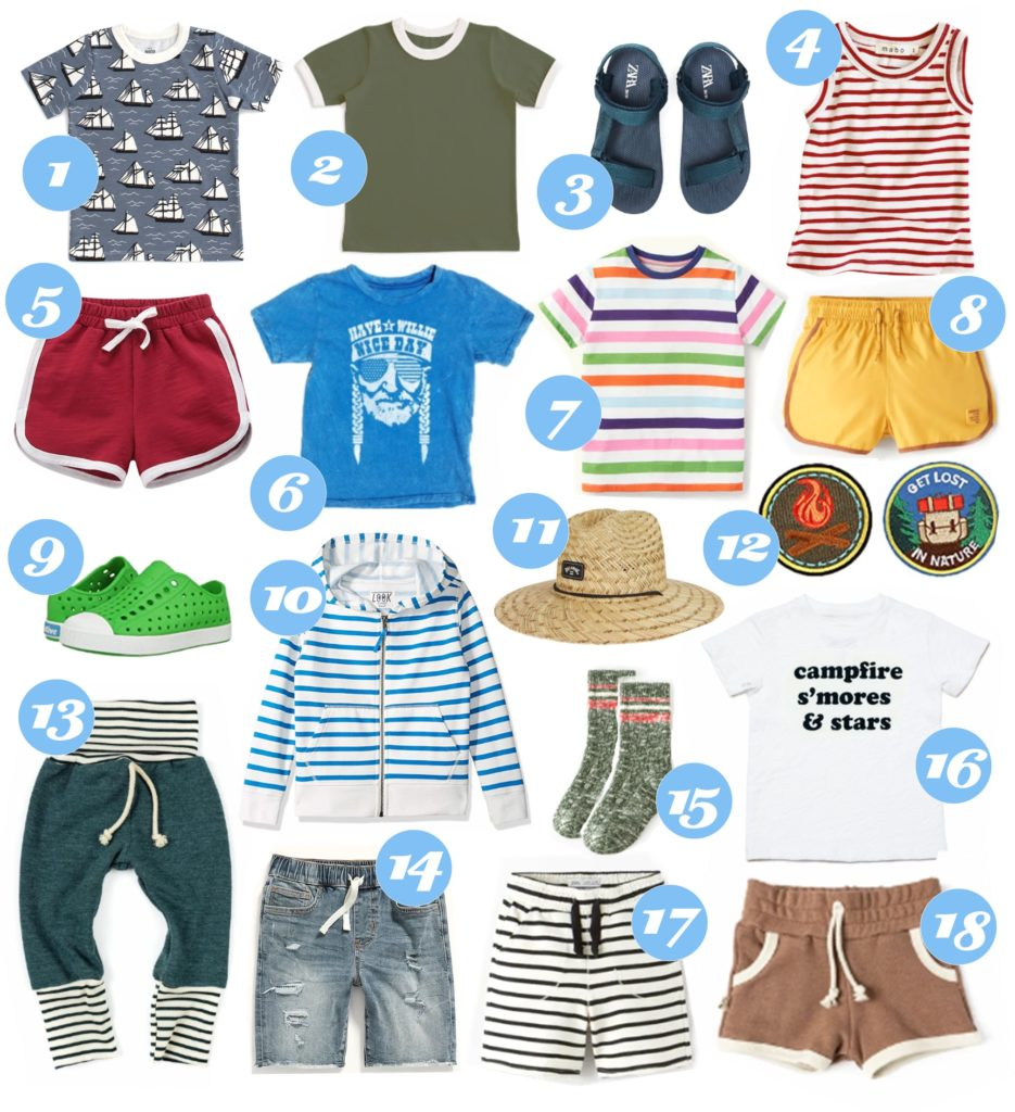 Spring & Summer Kids Clothing Round-Up for Lainey, Nella & Dash
