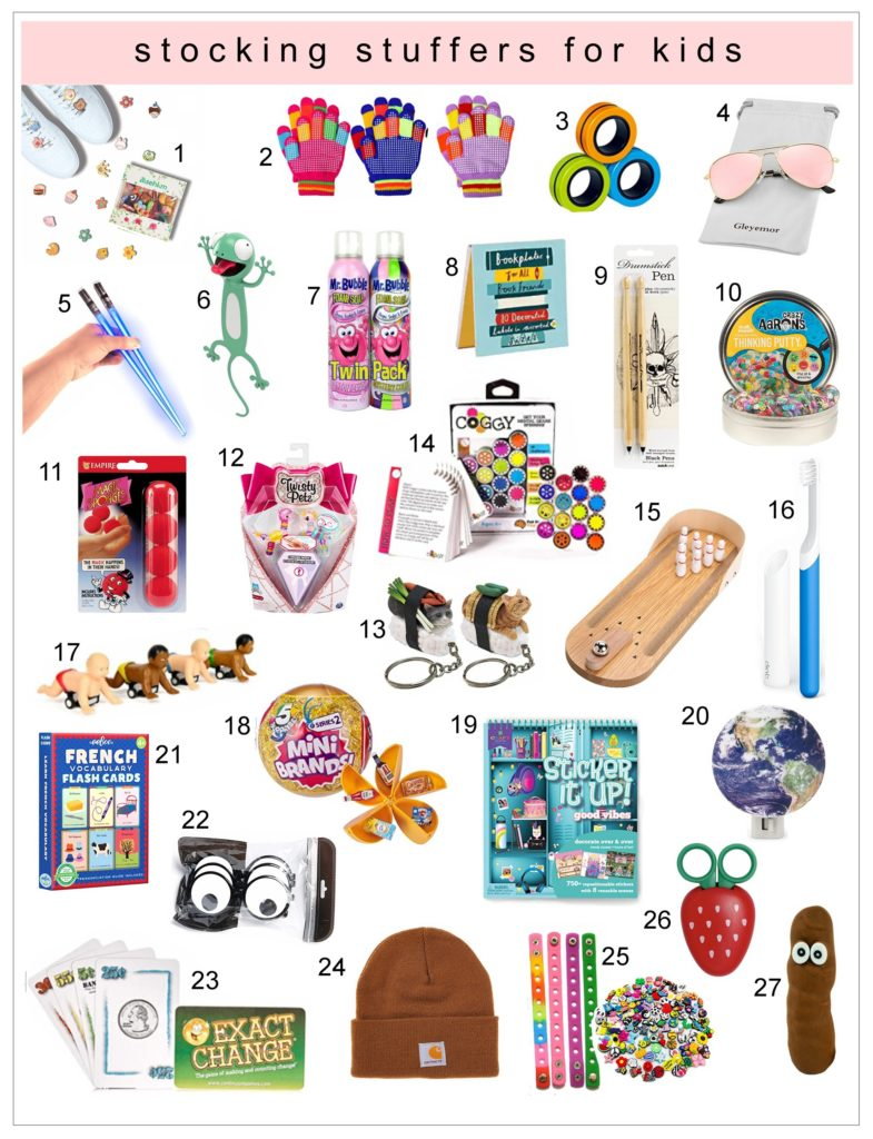 It's Here! The 2021 Stocking Stuffer List for Kids & Teens